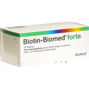 BIOTIN BIOMED FORTE 5mg 90pz SOLO 64.00 CHF